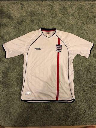 Umbro英格蘭國家隊球衣2002 England national team 大碼