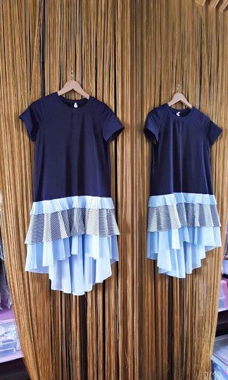 BLUE TSHIRT DRESS NEW