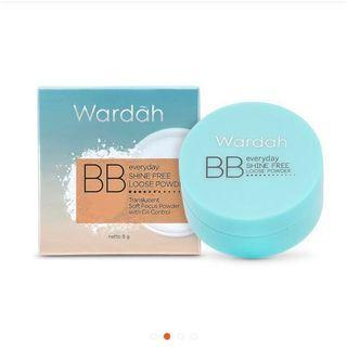 FREEONG: WARDAH EVERYDAY SHINE FREE LOOSE POWDER 8gr