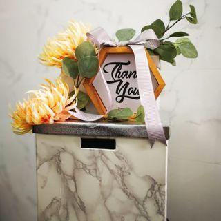 Rental - Wedding Money Box (Wedding Card)