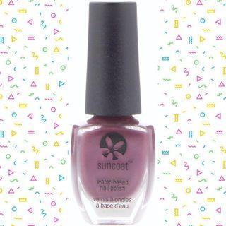 🚚 ✧Suncoat✧ [Free Delivery**] Peelable Water Based Nail Polish Mulberry 11 ml