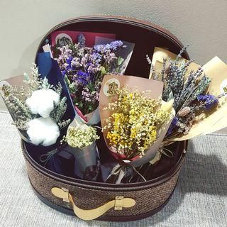 <<Mother's Day!!! >>  Dried Flower Bouquet