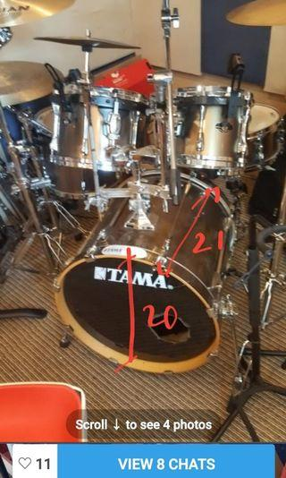 Tama superstar  drum set