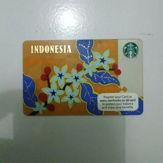 "Starbucks Card ""Indonesia"""