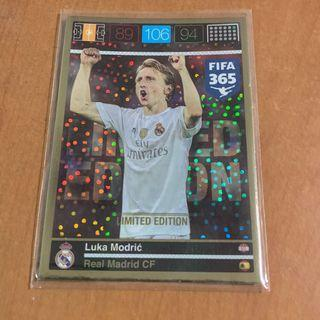 [SPECIAL OFFER] Panini Adrenalyn XL FIFA 365 Real Madrid Luka Modric Limited Edition