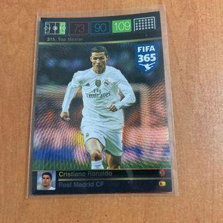 [SPECIAL OFFER] Panini Adrenalyn XL FIFA 365 Real Madrid Cristiano Ronaldo Top Master
