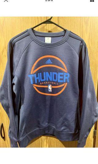 Adidas nba Oklahoma City thunder long sleeve size M