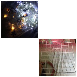 //TAKE ALL// Tumblr Lamp & Wire Grid Wall