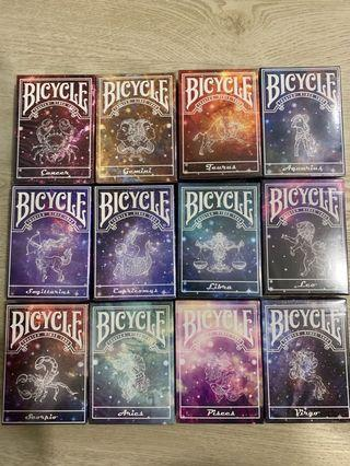 🚚 Bicycle Constellation Series Playing Cards