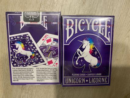 🚚 Bicycle unicorn playing cards