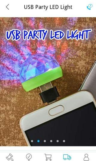 USB party led light