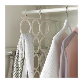 🚚 Ikea圍巾領巾收納架