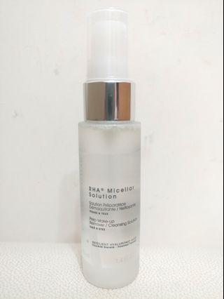 RHA Micellar Solution, prep make-up remover/cleansing solution 40ml, Made in Switzerland