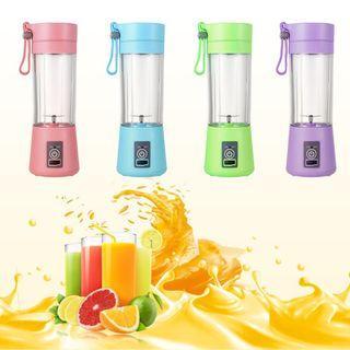 Electric Fruit Juicer Machine Mini Portable USB Rechargeable Smoothie Maker