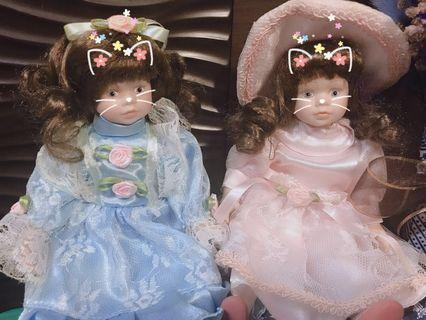 🚚 陶瓷人偶娃娃