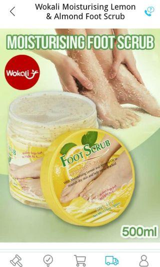 Wokali foot scrub