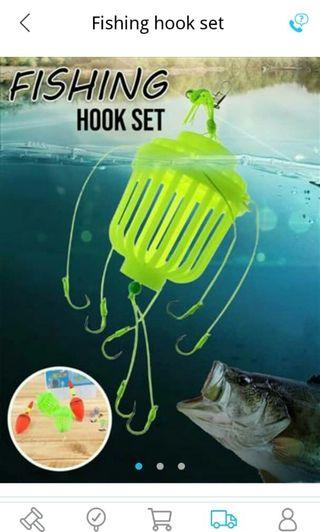 Fishing hook set