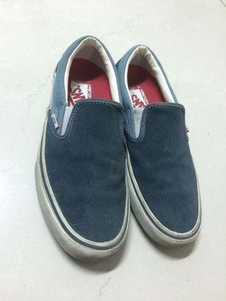 🚚 Vans 滑板懶人鞋pro款 藍色 街頭滑板潮流穿搭