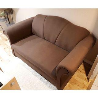 Like new brown love seat