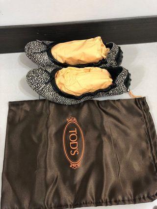 Tod's馬毛娃娃鞋(尺寸36 1/2)全新