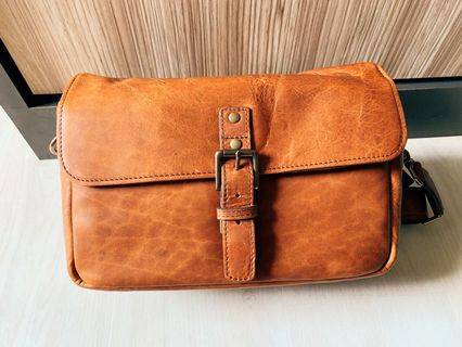 de64782c048b Ona Bowery camera bag in antique cognac leather