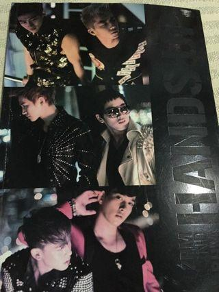 Photo book 2PM Hands Up Hardcover