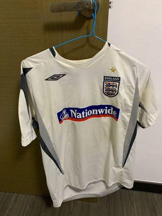 ENGLAND UMBRO JERSEY SIZE L FREE POSTAGE