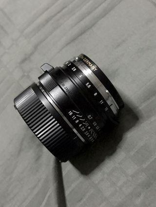 Voigtlander 35mm mc 1.4