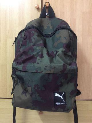 Puma camouflage backpack