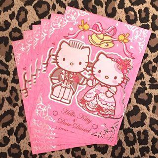 💢包郵💢 Hello Kitty & Dear Daniel 利是封(六個) 結婚利是 新年利是 粉紅色利是