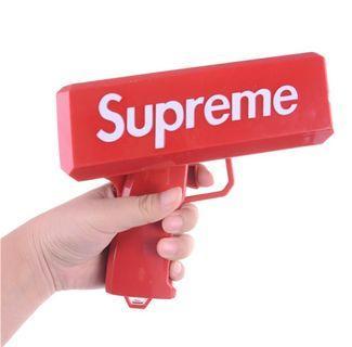 Supreme Cash Cannon Cash Gun (With notes)