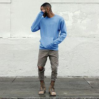Blue Sweater Sweatshirt