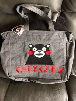 日本熊本熊 Kumamon 側揹袋 正版 容量大