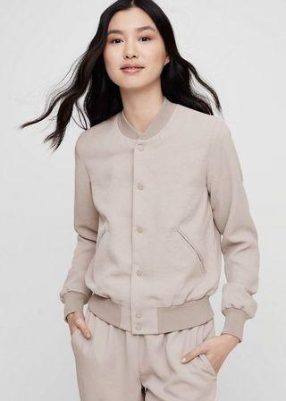 Aritzia Wilfred Poussin Bomber SMALL