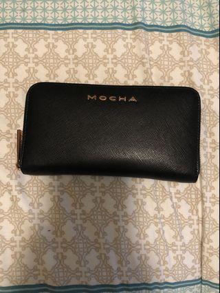 Mocha purse