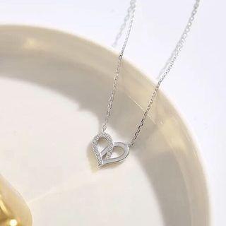 🚚 母親節禮物 925純銀愛心項鍊