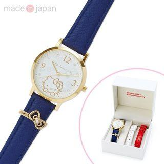 🚚 Sanrio Hello Kitty Chain Belt Watch