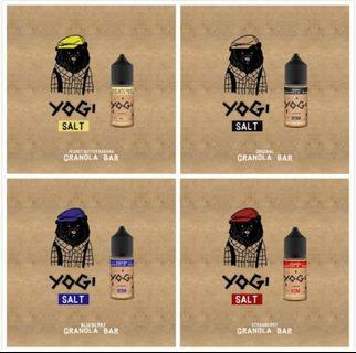 100% Authentic Yogi Salt USA 30ml Vape Juice E-Liquid Ejuice