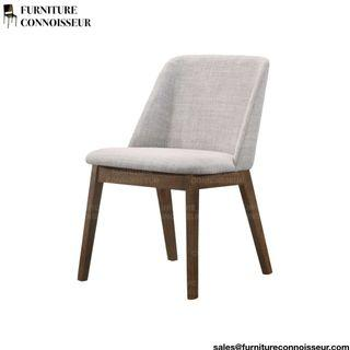 Solid Wooden Dining Chair (1/2 Cushioned)