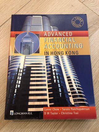 Advanced Financial Accounting in Hong Kong