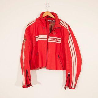 🌶 AUTHENTIC RED LEATHER DUCATI JACKET 🌶