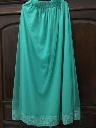 Turqoise Skirt