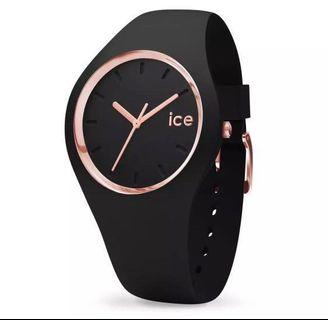 Ice Watch Ice Glam- Black rose gold (Small)