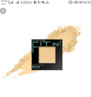 (FREE SHIPPING) MAYBELLINE FIT ME POWDER