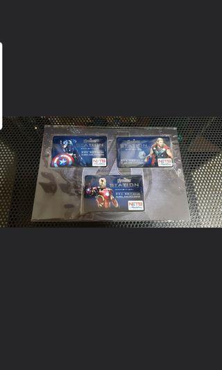 Brand New Avenger Ezlink Flashpay Set