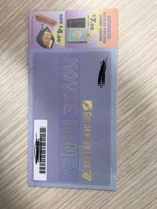 Golden village movie vouchers