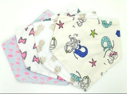 Mother's day promotion! Bandana bibs/ baby bib / toddler girls bibs