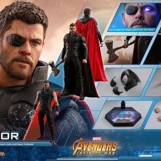 Hottoys infinity war Thor rerun會場次日單