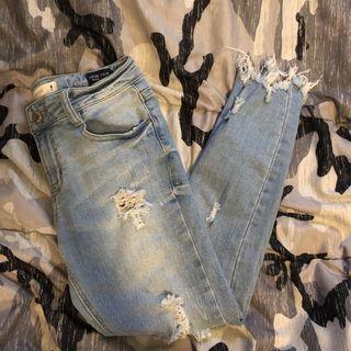 Urban heritage skinny jeans