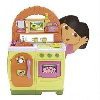 Dora play kitchen